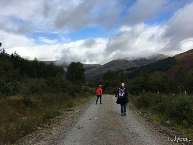 walking around Glencoe