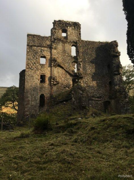 Invergarry Caste ruins