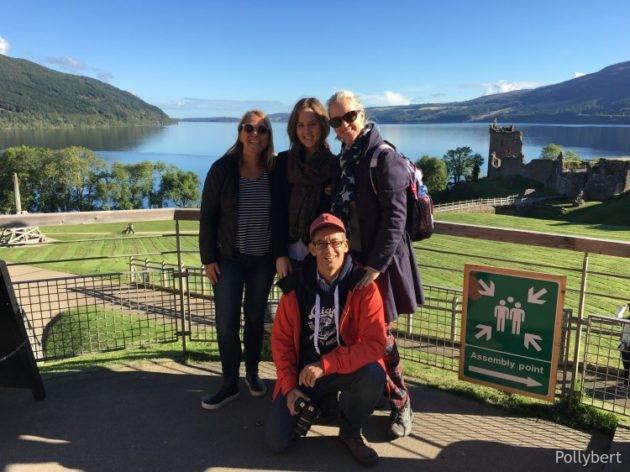family trip to Loch Ness
