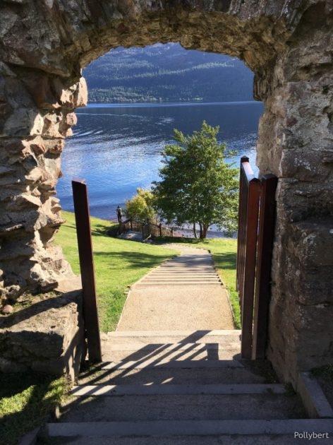 Loch Ness @Urquhart Castle