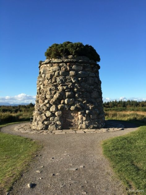 Memorial cairn @Culloden moor