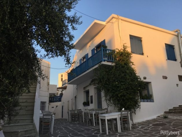 our favorite restuarant in Naoussa